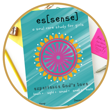 es[sense], A Soul Care Coloring Devotional by Katie E. Kemp | Ages 9-17