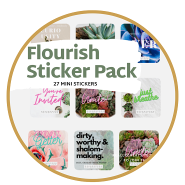 Flourish Sticker Pack