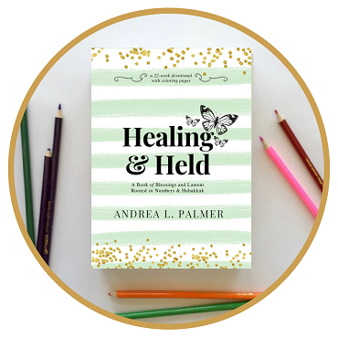 Healing and Held | A Bible Devotional Coloring Journal