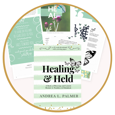 Healing and Held eBook | A Coloring Bible Devotional Journal
